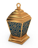 Arabic Lantern with Arabesque Pattern Royalty Free Stock Photo