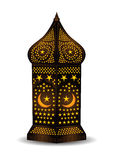 Arabic lantern for eid or ramadan celebration Royalty Free Stock Photography