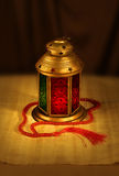Arabic lantern and rosary Stock Photography