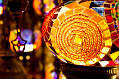 Arabic lanterns Stock Image