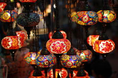 Arabic Lanterns Royalty Free Stock Photography