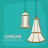 Arabic lanterns for Ramadan Kareem celebration. Stock Photography