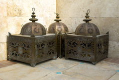 Arabic lanterns Stock Photos