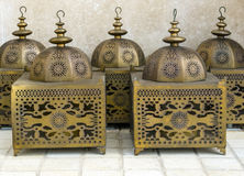 Arabic lanterns Stock Photo