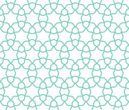 Arabic lattice geometric seamless pattern. Background, vector illustration Stock Photo
