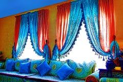 Arabic living room Royalty Free Stock Image