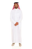 Arabic man in thobe Stock Image