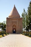 Arabic Mausoleum. Babaja-Khatun Mausoleum in Taraz city, Kazkahstan Stock Image