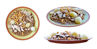 Arabic_meals_01 Royalty Free Stock Photography