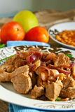 Arabic meat food Royalty Free Stock Image
