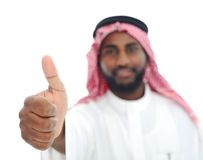 Arabic Middle eastern black man Stock Photos