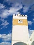 Arabic minaret. Minaret from the medina of Hammamet, Tunisia Royalty Free Stock Photography