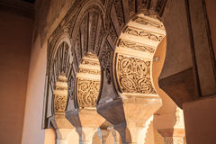 Arabic monument from andalusian spain Stock Photography