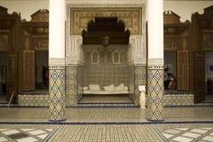 Arabic mosaic decorations Stock Photo