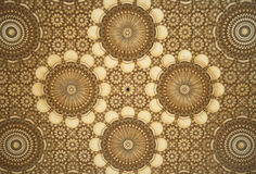 Arabic mosaic detail Royalty Free Stock Photography