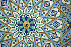 Arabic mosaic detail Stock Photography