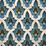 Arabic mosaic detail Stock Photos