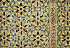 Arabic mosaic detail Stock Photo
