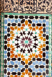 Arabic mosaic. In Marrakech, Morocco Stock Images