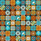 Arabic mosaic pattern royalty free illustration