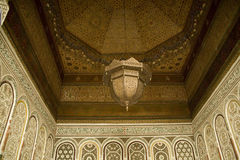 Arabic Mosaics in building Royalty Free Stock Photos