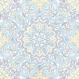 Arabic motifs seamless Stock Image