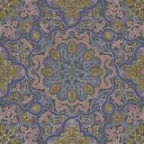 Arabic motifs seamless Stock Photography
