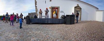 Arabic music band, panoramic view Royalty Free Stock Image