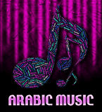 Arabic Music Means Sound Track And Arabian Stock Photo