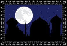 Arabic night Royalty Free Stock Photography
