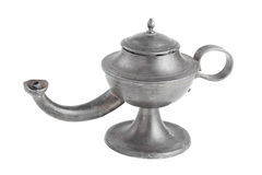 Arabic oil lamp, lamp of Aladdin,  Stock Photos