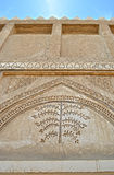 Arabic old building detail Royalty Free Stock Image