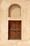 Arabic Old Window. Arabic style window in Dubai Royalty Free Stock Photos