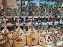 Arabic Oriental market shop Royalty Free Stock Photos