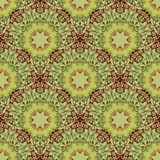 Arabic ornament background Oriental ethnic mandala amulet Abstra. Oriental floral seamless pattern. Flower geometric ornamental background. Floral ethnic tiled Royalty Free Stock Image