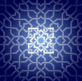 Arabic ornament pattern. Geometric pattern with arabic style elements Stock Photo