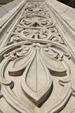 Arabic ornament pattern stone texture. Arabic ornament pattern texture on the doors Stock Photo