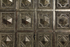 Arabic ornament pattern texture on the doors. Texture Stock Images