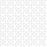 Arabic ornament seamless pattern. Arabic classic ornament outline pattern, vector seamless background Stock Photos