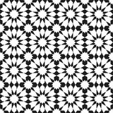 Arabic ornament seamless pattern. Arabic classic ornament pattern, vector seamless background Stock Photos