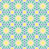 Arabic ornament seamless pattern. Arabic classic ornament pattern, vector seamless background stock illustration