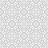 Arabic Ornament Vector Design Light Grey Background vector illustration