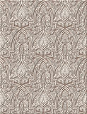 Arabic ornament. Arabic vintage seamless ornament for background design Royalty Free Stock Photos