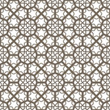 Arabic ornament. Arabic vintage seamless ornament for background design Stock Images