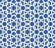 Arabic ornamental background - seamless Persian pattern Royalty Free Stock Images