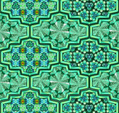 Arabic ornamental tiles Royalty Free Stock Images