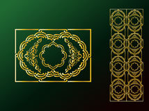 Arabic Ornaments Royalty Free Stock Images