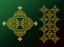 Arabic Ornaments. Simple Illustration for Arabic Ornamint Symbols and Backgrounds Royalty Free Stock Photos