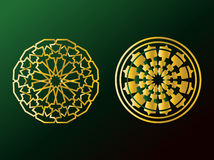 Arabic Ornaments. Simple Illustration for Arabic Ornamint Symbols and Backgrounds Royalty Free Stock Photo