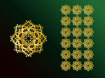 Arabic Ornaments Stock Image